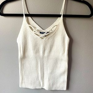 White Tank Top - XS - American Eagle Outfitters